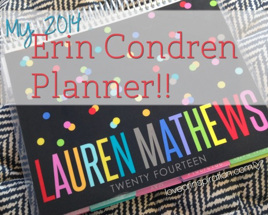Erin Condren Life Planners 2014  |  See original post @ loveorinspiration.com