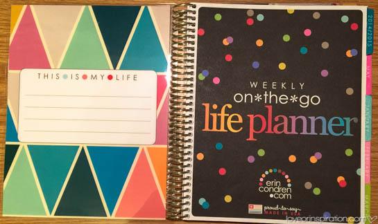 Erin Condren Life Planners 2015 | @loveorinspir8on | #LIblog
